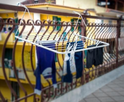 Stendi balcone cm 50x100 plastificato